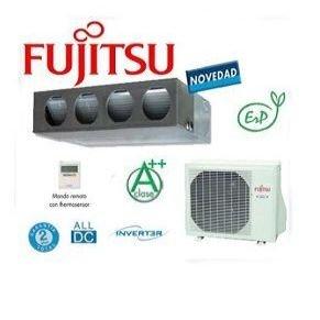 Aire acondicionado Fujitsu en plata