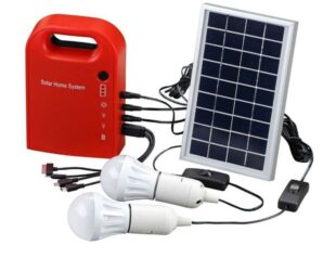Cómo montar un kit de energía solar en casa
