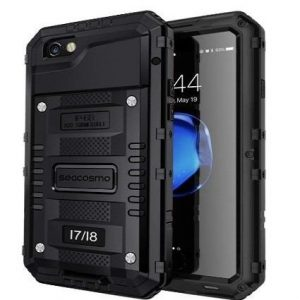 Funda indestructible para iPhone Seacosmo