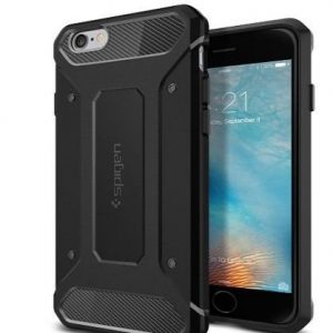 Funda indestructible para iPhone Spigen