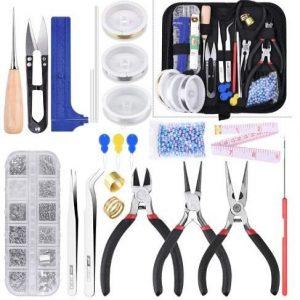 Kit de herramientas para fabricar joyas Coodenkey