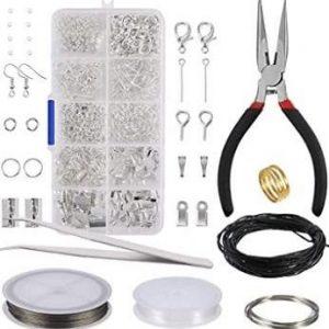 Kit de herramientas para fabricar joyas y bisutería
