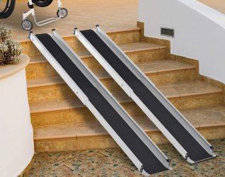 Rampas para escaleras para discapacitados