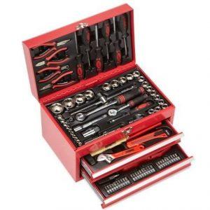 Maletín de herramientas equipado con 155 herramientas