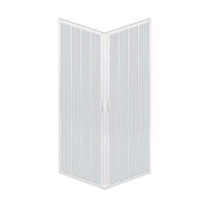 Mampara de ducha de dos puertas