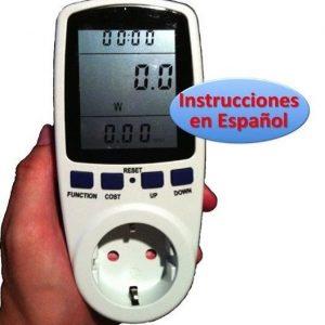 Medidor de consumo eléctrico Ahorraluz