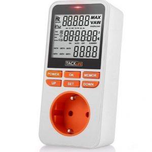 Medidor de consumo eléctrico Tacklife