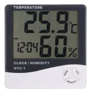 Medidor de humedad con pantalla LCD