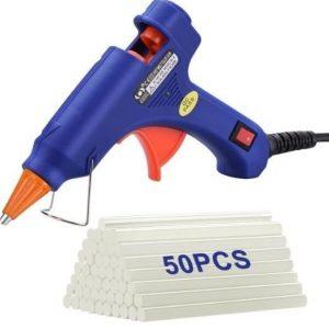 Pistola de silicona para reparaciones rápidas Topelek