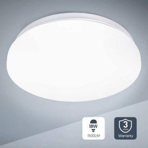 Plafón LED de cocina con luz natural