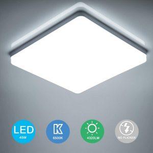 Plafón LED de cocina moderno