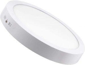 Plafón LED de cocina redondo
