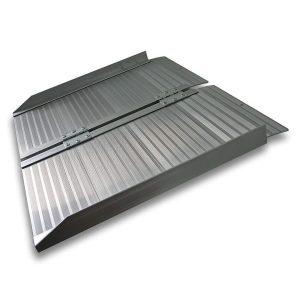 Rampa para escaleras para discapacitados aluminio