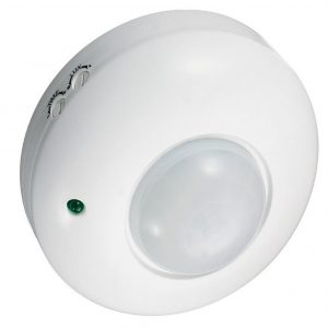 Sensor de movimiento para el techo