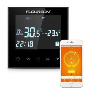 Termostato inteligente con aplicación móvil