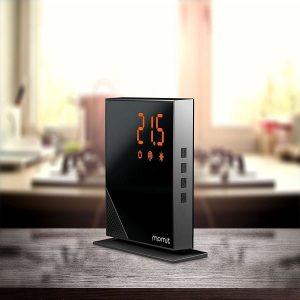 Termostato inteligente para la calefacción del hogar