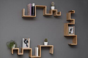Tipos de estanterías de madera (de las que te puedes inspirar)