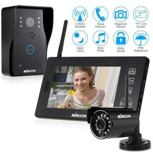 Videoportero con cámara CCTV