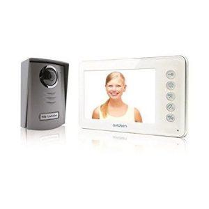 Videoportero con infrarrojos y portanombre