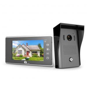 Videoportero con monitor a color