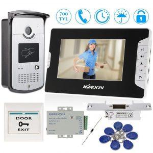 Videoportero con monitor interior