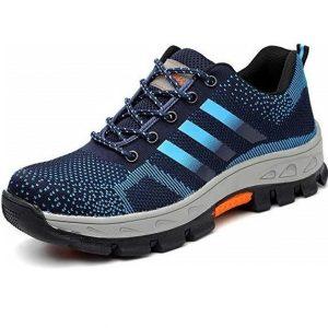 Zapatillas de seguridad cómodas y antideslizantes