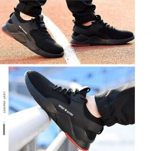 Zapatillas de seguridad cómodas y transpirables